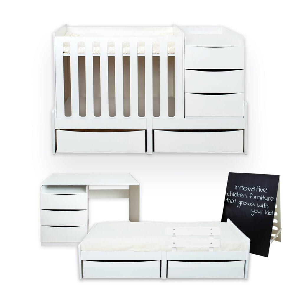 smart child furniture set - cot/crib