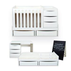 smart child furniture set - cot/crib