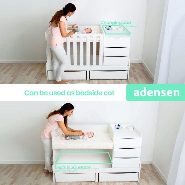 Cot & Crib Adensen Smart